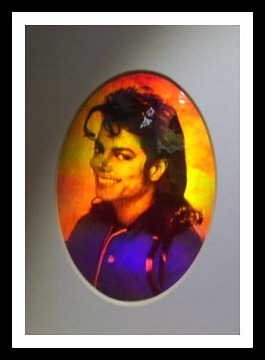 Michael Jackson hologramtavla