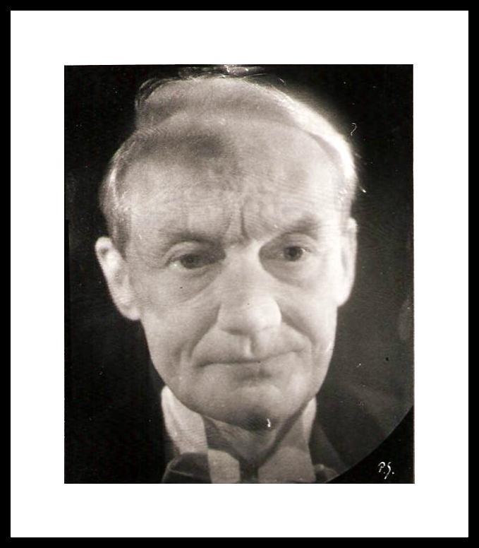 Nobelpristagare Kaj Siegbahn som hologramporträtt nr 18