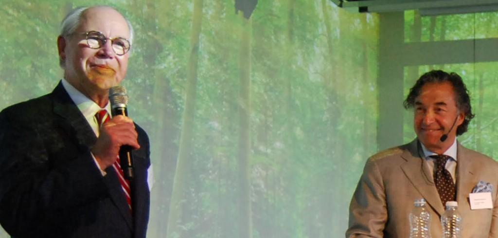 Roger Svensson och Larry Leksel Filantrophy Symposium
