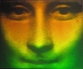 Mona Lisa foliehologram