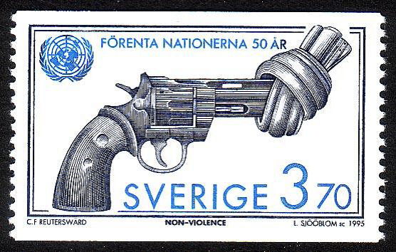Non Violence stamp