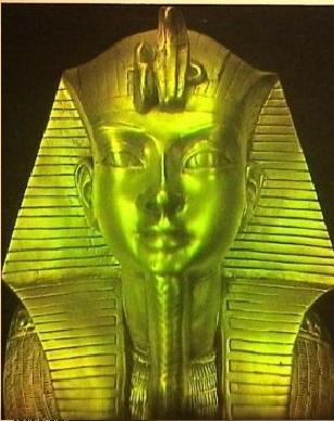 Tutankhamun Hologram