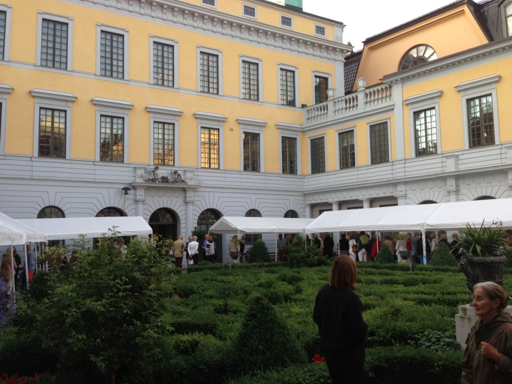 Tessinska Palatset Barockträdgården
