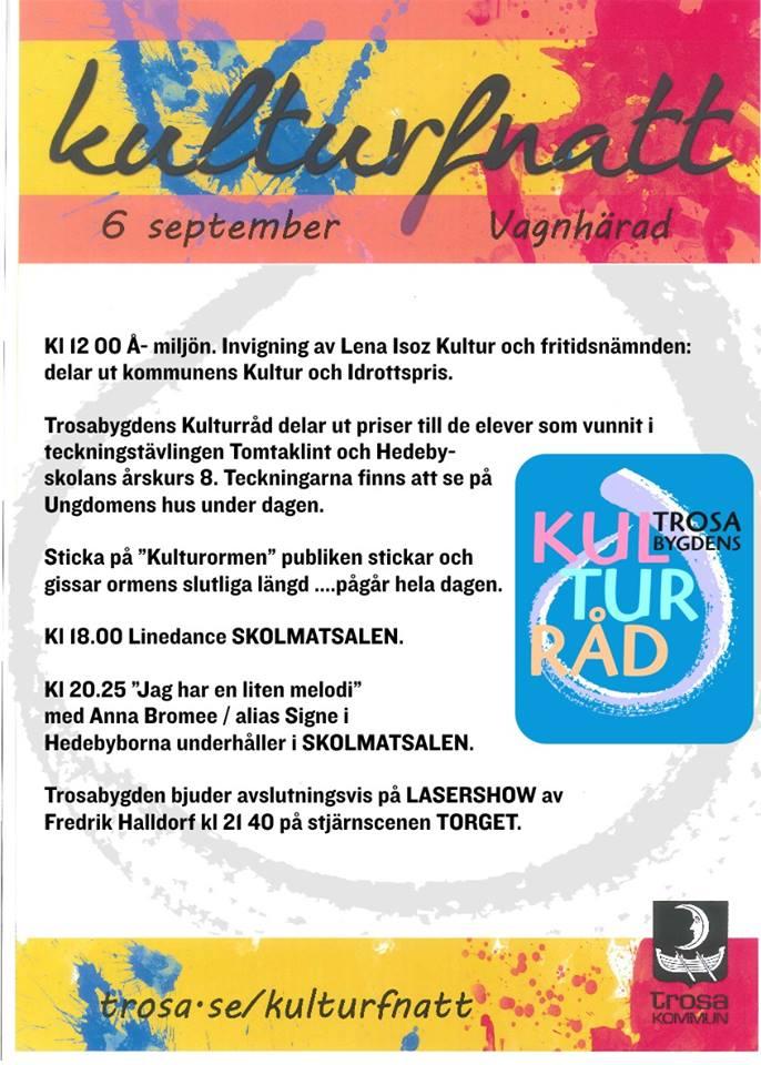 Kulturfnatt Vagnhärad Trosabygdens Kulturråd