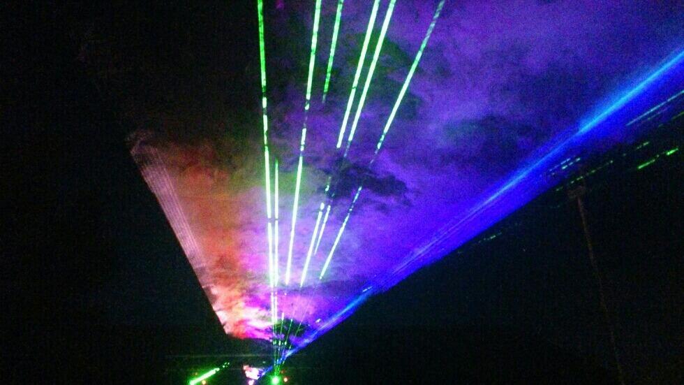 Lasershow-Trosa
