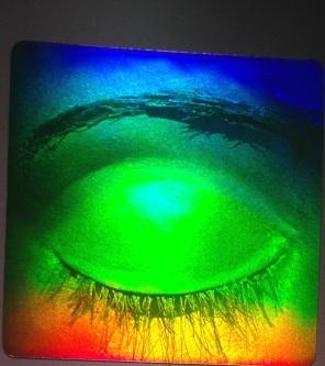 Blinkande öga
