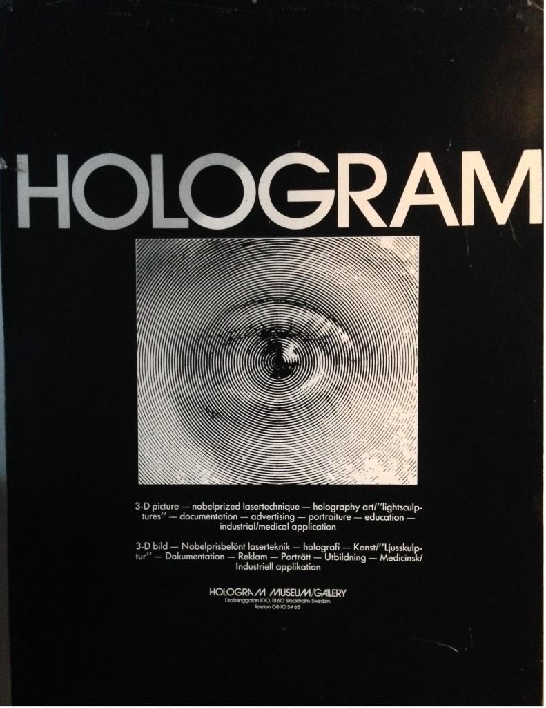 HologramGallery affisch 2