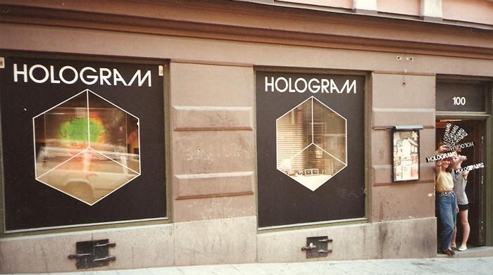 Hologram Drottninggatan