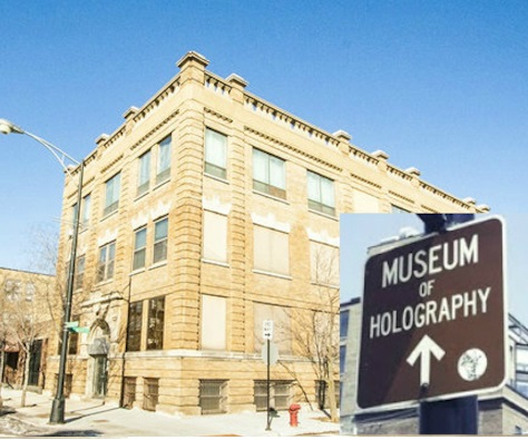 Museum of Holography exterior