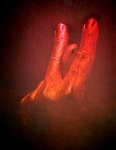Fingerlanguage Carl Fredrik Reuterswärd