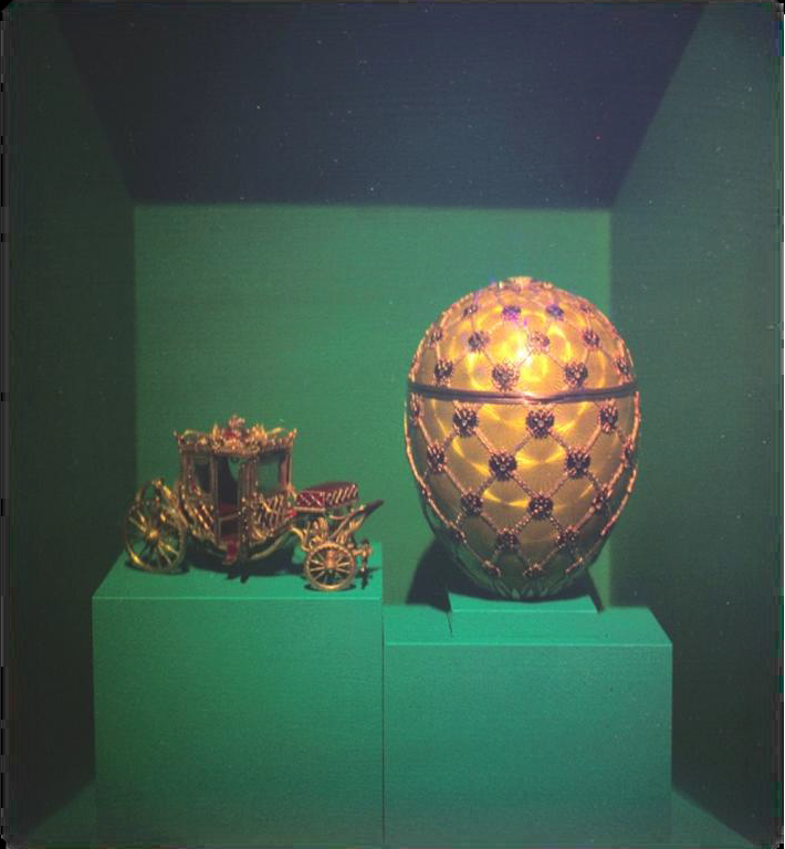 The 1897 Coronation Easter Egg