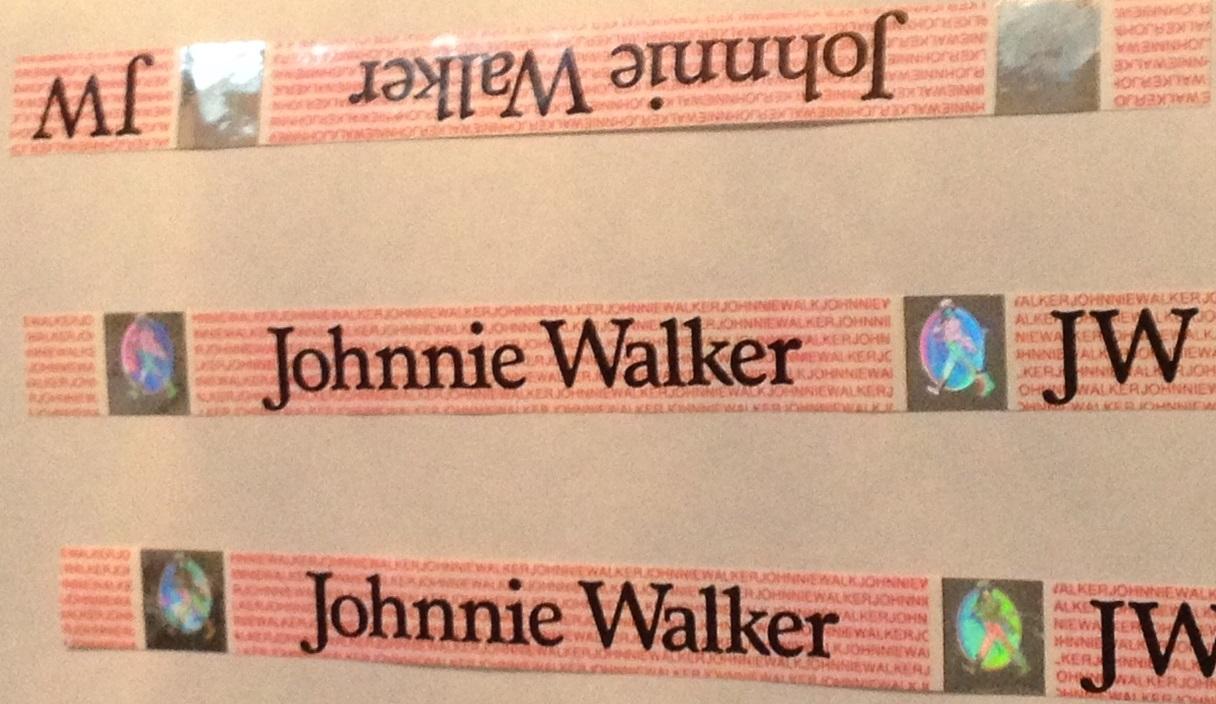 Johhny Walker säkerhetssigill