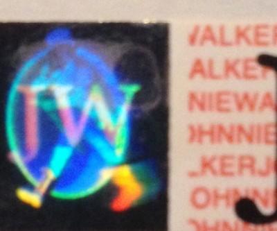 Johnny Walker hologram