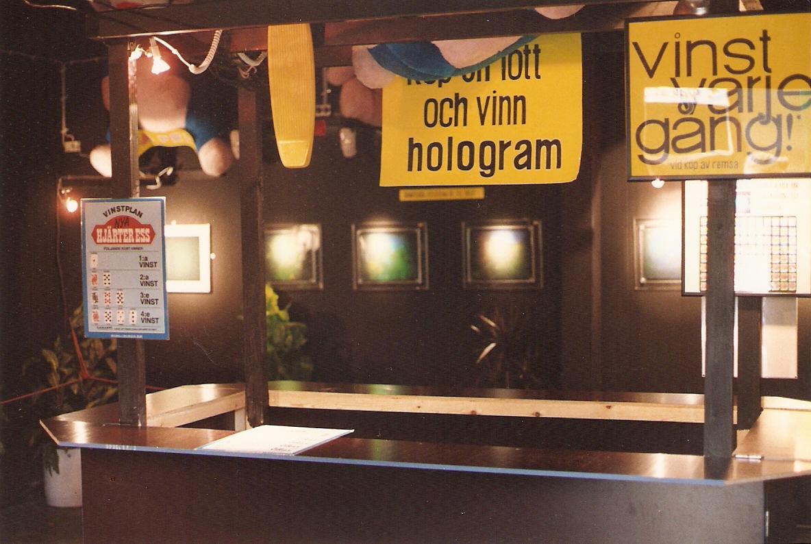 Gröna Lund Hologram lott
