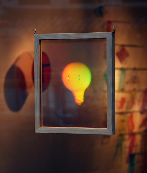 Ray Park Hologram bulb 2012