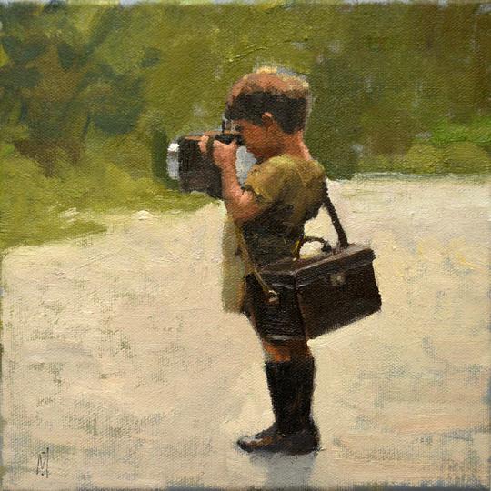 Young Photographer artist Nigel Mason MIVA fine Art Gallery