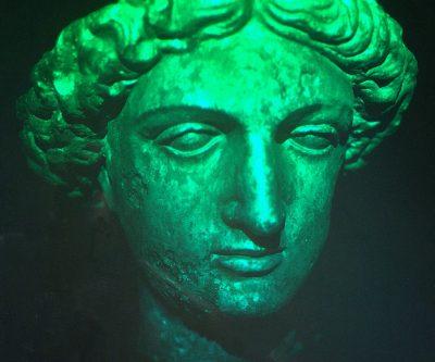 Minervas huvud hologram