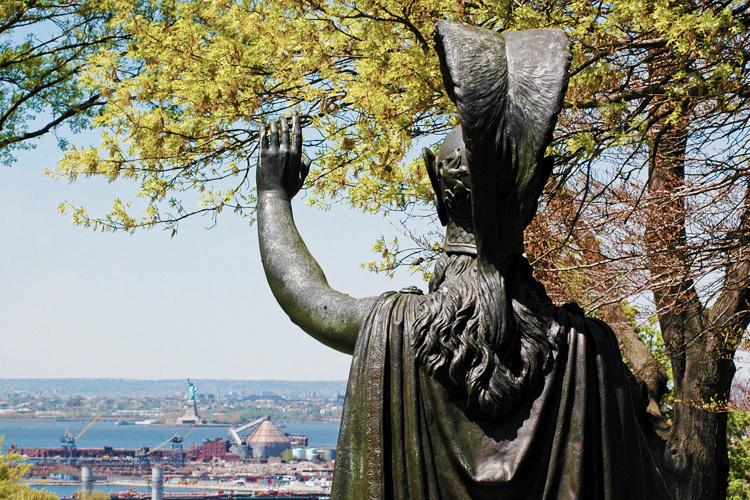 Minerva skulptur, Frederick Wellington Ruckstull