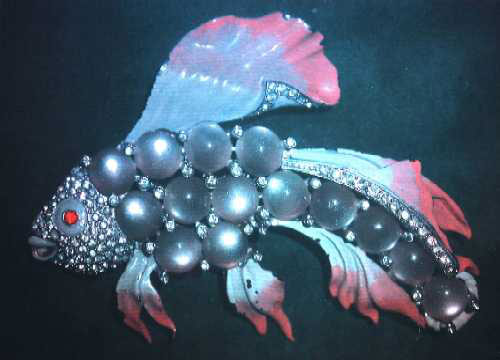 Colour hologram Bejeweled Fish Hans Bjelkhagen