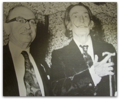 Dali and Nobelprize winner for Holography