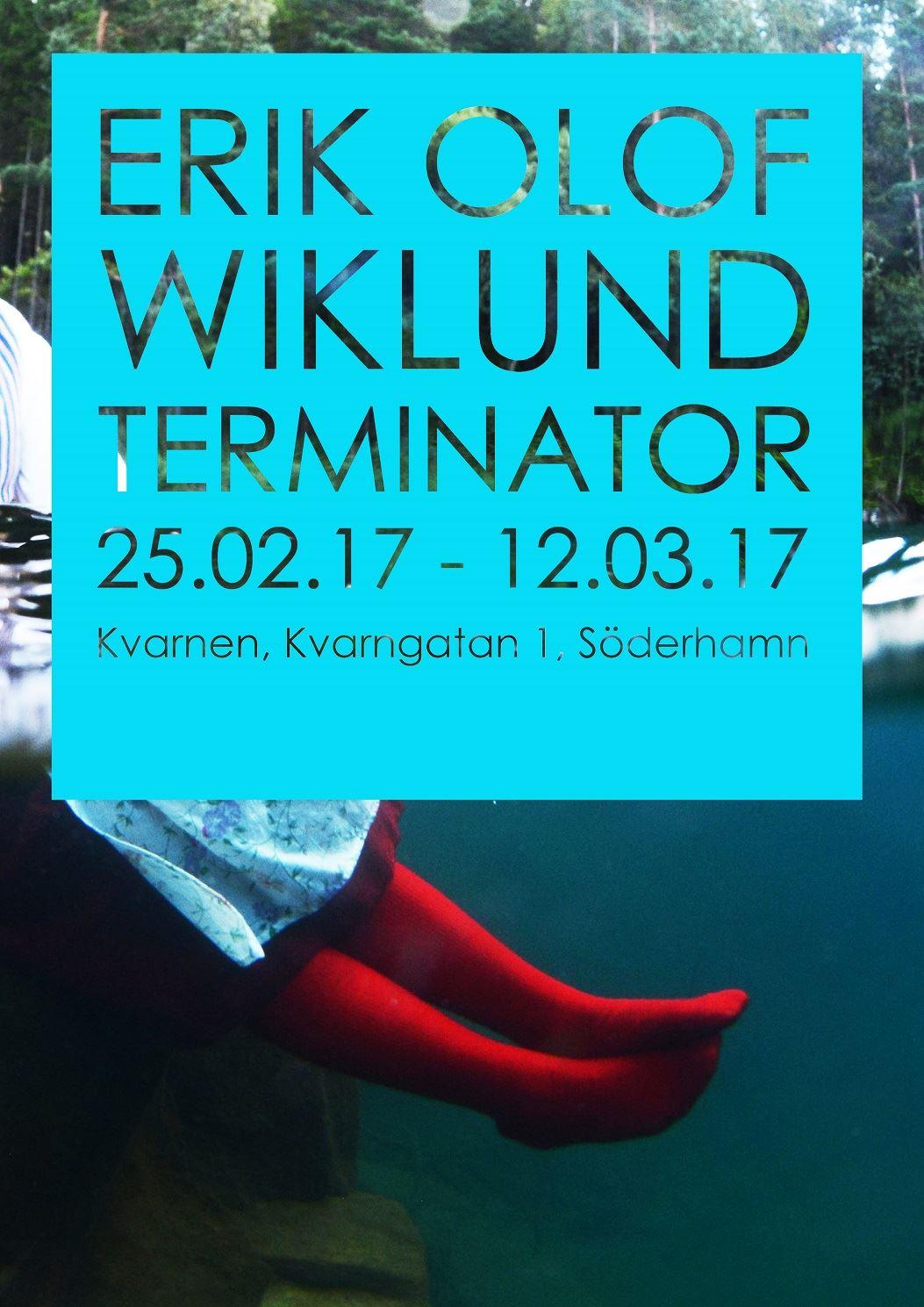 Erik Olof Wiklund Terminator